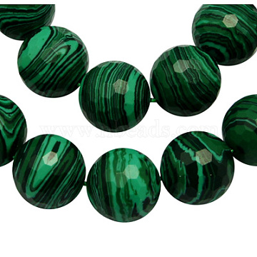 14mm DarkGreen Round Beads