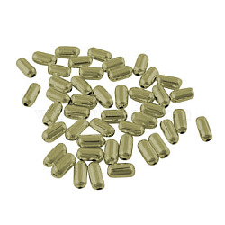 Iron Beads, Antique Bronze, 4.8x2.4mm, Hole: 0.5mm, about 17850pcs/1000g(IFIN-E303Y-AB-NF)