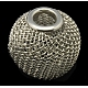 Iron Wire Mesh Beads(IFIN-16D-P)-1