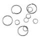 Iron Jump Rings and Split Rings(M-JR001Y-NF)-1