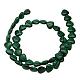 Natural Malachite Gemstone Beads Strands(MALA-10X10)-2