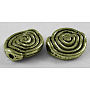 Tibetan Style Alloy Beads, Lead Free, Antique Bronze, 11.5mm in diameter, 4mm thick, hole: 1.5mm
