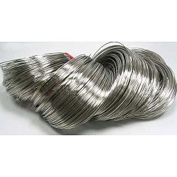 fil à mémoire de bracelet d'acier 5.5 cm, fil: calibre 18, 1.0 mm, 700 cercles / 1000 g(MW5.5cm-1)