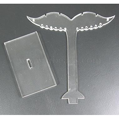 Пластиковая подставка дисплея серьги(PCT019-074)-2