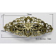Iron Vintage Hair Barrette Findings(PHAR-G001-AB)-1