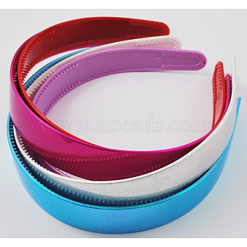 Mixed Color Plastic Hair Bands