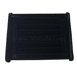 Bague de velours écrans, noir, 220x150x100mm(RDIS-A001-1)