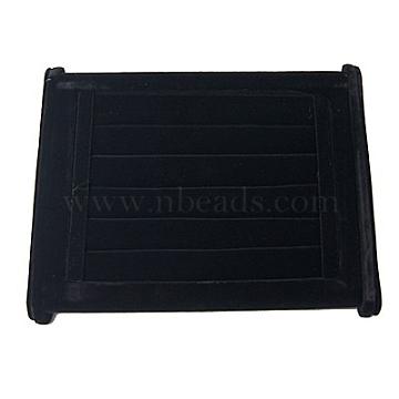 Velvet Ring Displays, Black, 220x150x100mm(RDIS-A001-1)