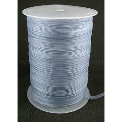 "Ruban d'organza, grises , 1/4"" (6 mm); 500yards / roll (457.2m / roll)(RS6mmY059)"