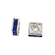 Brass Rhinestone Spacer Beads(RSB072-15S)-1