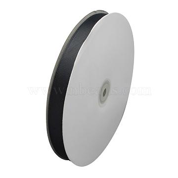 Grosgrain Ribbon, Black, 1/2inch(12mm); 100yards/roll(91.44m/roll)(RW12mmY039)