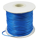 0.5mm DodgerBlue Waxed Polyester Cord Thread & Cord(YC-0.5mm-159)
