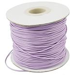 1mm Plum Waxed Polyester Cord Thread & Cord(YC1.0MM-07)