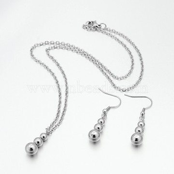 Stainless Steel Earrings & Necklaces