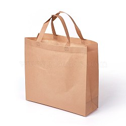 Eco-Friendly Reusable Bags, Non Woven Fabric Shopping Bags, Peru, 37.5x12.5x35cm(ABAG-L004-K03)