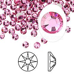 Austrian Crystal Rhinestone Cabochons, Crystal Passions, Foil Back, Xirius Rose, 2088, 209_Rose, 3.8~4mm(X-2088-SS16-209(F))
