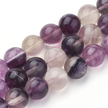 14mm Round Fluorite Beads