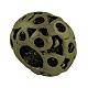 Tibetan Style Alloy European Large Hole Beads Rhinestone Settings(X-TIBEB-7827-AB-NR)-2