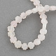 Natural Rose Quartz Stone Beads Strands(G-R182-19)-2