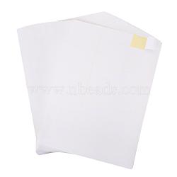 une étiquette autocollante 4, pour imprimante à jet d'encre laser, blanc, 29.7x21 cm; étiquette: 7x2.97 cm; 30 pcs / sheet; 50 feuille / sac(AJEW-BC0005-31)
