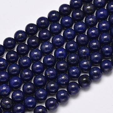 4mm MidnightBlue Round Lapis Lazuli Beads