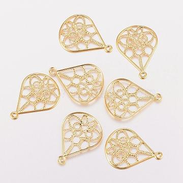 Golden Drop Stainless Steel Pendants