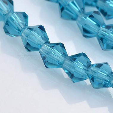 Faceted Bicone Glass Beads Strands(X-EGLA-P017-4mm-02)-3