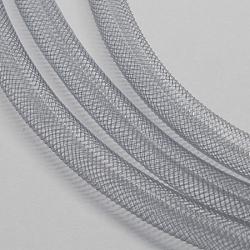 Filet en plastique, gris clair, 8mm, 30 mètres(PNT-Q003-8mm-27)