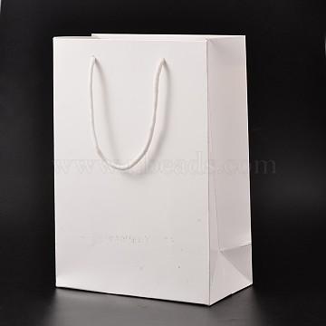 White Paper Pouches