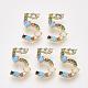 Brass Cubic Zirconia Pendants(ZIRC-S062-02A-5)-1
