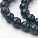 Natural Bloodstone Beads Strands(G-N0120-25-8mm)-3