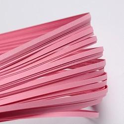 Bandes de papier quilling, flamant, 390x3mm; à propos 120strips / sac(X-DIY-J001-3mm-B02)