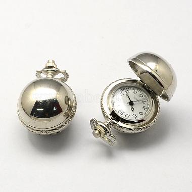 Старинные цинковый сплав кварцевые часы головы(X-WACH-R008-11)-1