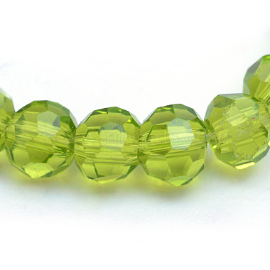 Transparent Glass Bead Strands(GLAA-R166-6mm-01E)-2