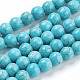 Synthetic Turquoise Beads Strands(X-TURQ-S192-8mm-2)-1