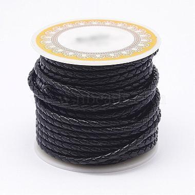 4mm Black Leather Thread & Cord