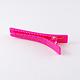 Plastic Alligator Hair Clip Findings(PHAR-R009-6)-2