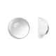 Transparent Half Round Glass Cabochons(X-GGLA-R027-16mm)-1