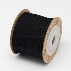 Nylon Threads, Black, 0.8mm; about 100m/roll(NWIR-N003-0.8mm-06F)