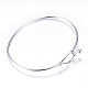304 Stainless Steel Bangles(X-STAS-S053-26)-1