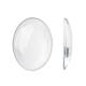 Transparent Oval Glass Cabochons(X-GGLA-R022-40x30)-1