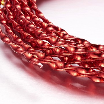 3mm Red Aluminum Wire