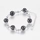 Glass Round Beads Bracelets(BJEW-F298-02A)-1