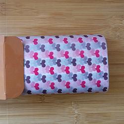 Papier d'emballage de gâteau alimentaire jetable, papier sulfurisé, style de coeur, colorées, 25x21.8cm; 50pcs / boîte(DIY-L009-A02)