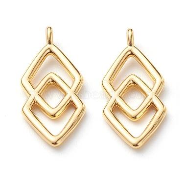 Real 18K Gold Plated Adinkra Symbol Brass Pendants