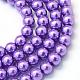 Chapelets de perles rondes en verre peint(X-HY-Q003-6mm-27)-1