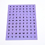 Medium Slate Blue Paper Stickers(DIY-TAC0005-58A)