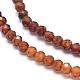 Natural Orange Garnet Beads Strands(G-G823-11-3.5mm)-3