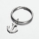 Stainless Steel Anchor Keychain(X-KEYC-JKC00046-03)-1