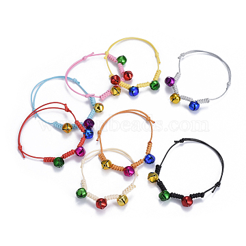 Mixed Color Waxed Cord Bracelets